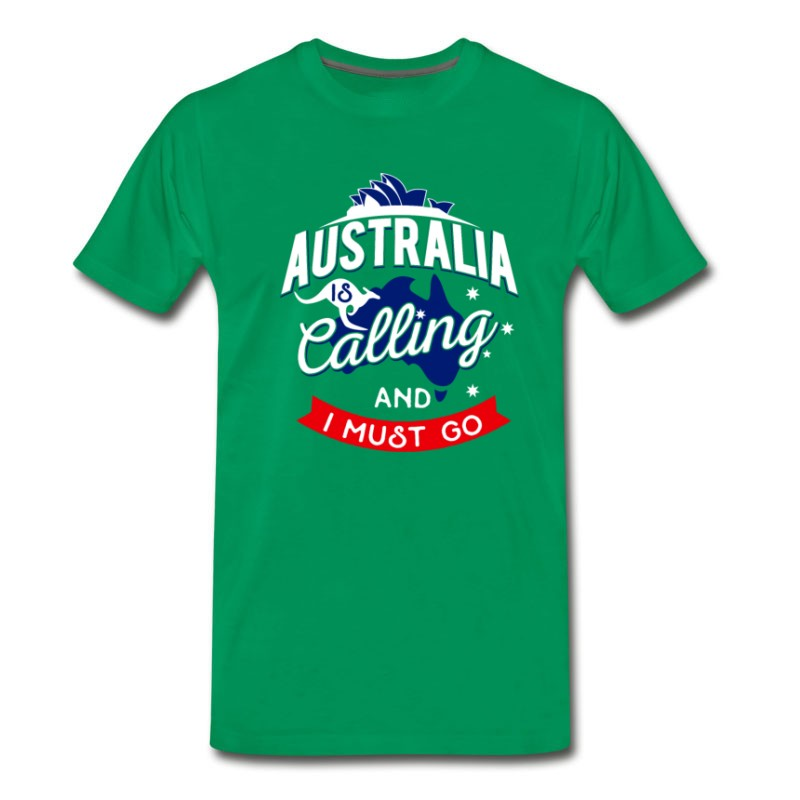 Men's Australia Work Travel Kangaroo Kangaroos Sydney T-Shirt