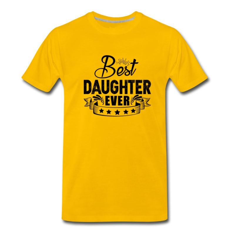 Men's Best Daughter Ever Shirt T-Shirt