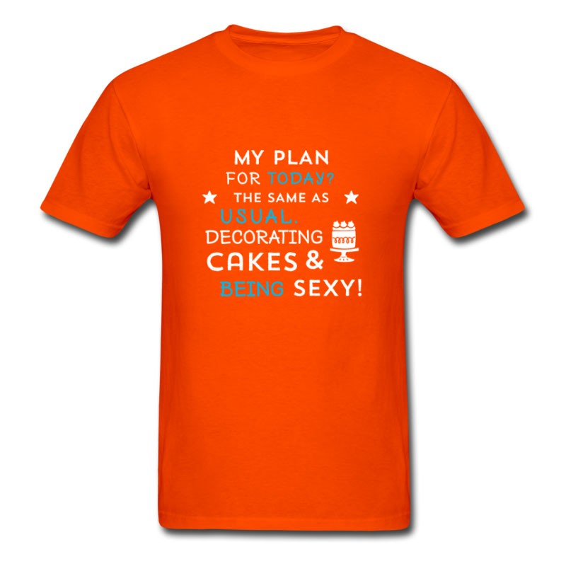 Men's Cake Decorating And Being Sexy T-Shirt