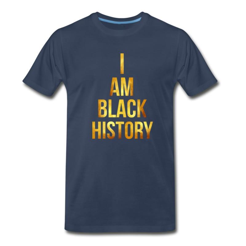 Men's I Am Black History Black History Month T-Shirt
