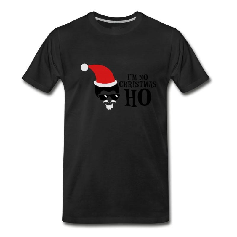 Men's IM NO CHRISTMAS HO I Hate Christmas T-Shirt