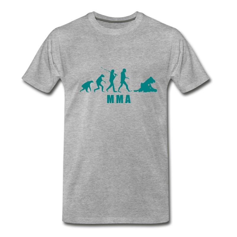 Men's Mma Turquesa T-Shirt