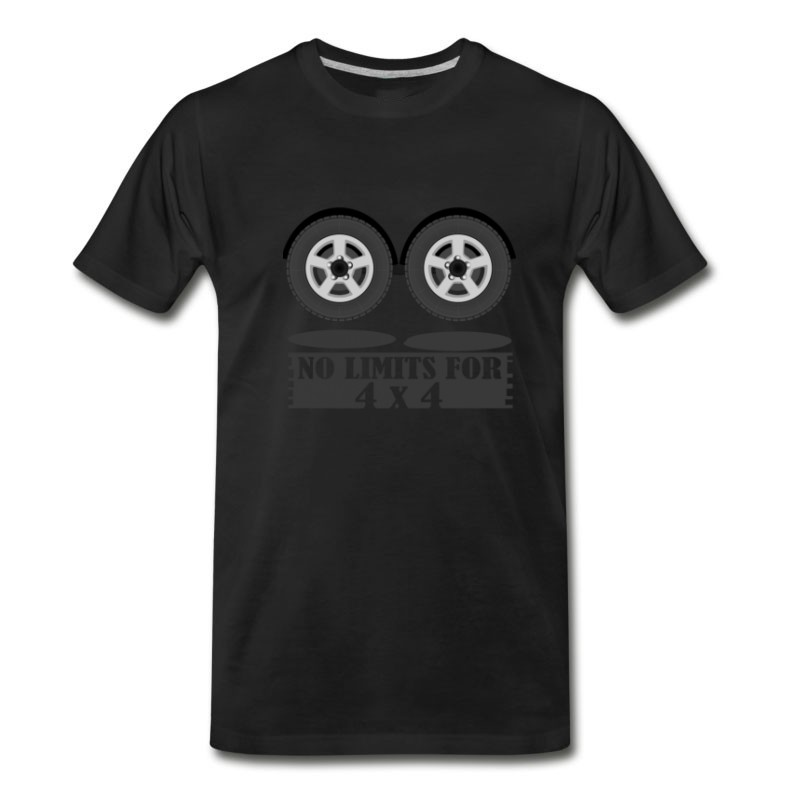 Men's No Limits For 4x4 T-Shirt