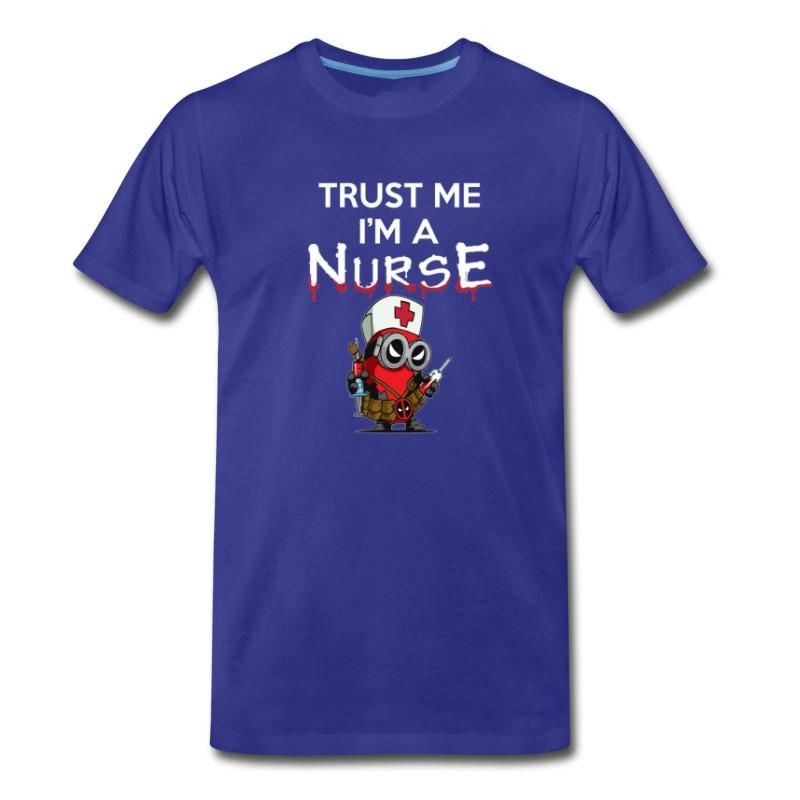 Men's Nurse T - Shirt - Trust Me I'm A Nurse T-Shirt
