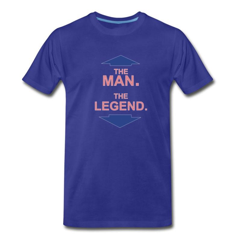 Men's THE MAN THE LEGEND FUNNY T-Shirt